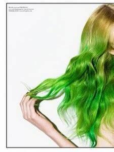 dip dye bright green Hair Colors Ideas
