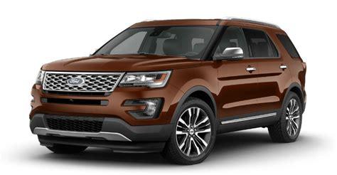 ford explorer exterior color options