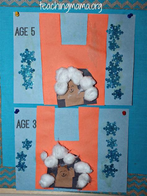 hibernation activities for preschoolers teaching 413   Finished Work