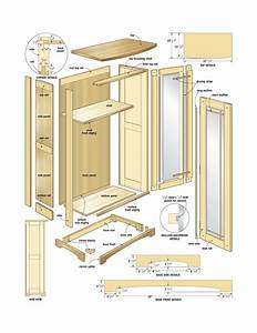 free woodworking plans kitchen cabinets Quick