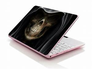 Laptop Notebook Skin Sticker Cover Deco Ghost Skull 17 U0026quot  Hp Asus Acer Samsung