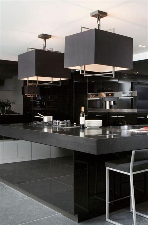 39 luxury kitchen design nuances of black home decor