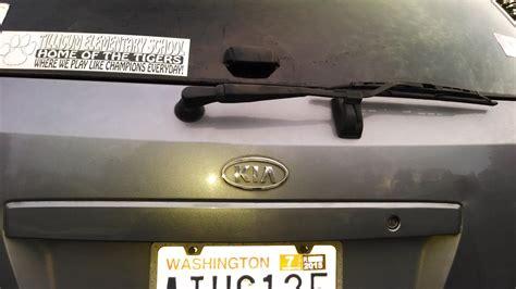 license plate bulb issues kia forum