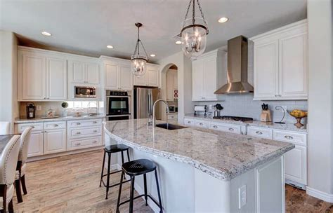 moon white granite with dark cabinets river white granite with grey cabinets home