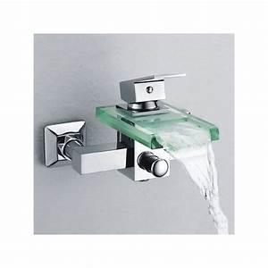 Robinet Cascade Baignoire : robinet cascade mural sds001c robinet cascade mural pour baignoire distribain ~ Nature-et-papiers.com Idées de Décoration
