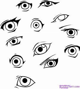 How to Draw Simple Eyes, Step by Step, Eyes, People, FREE ...