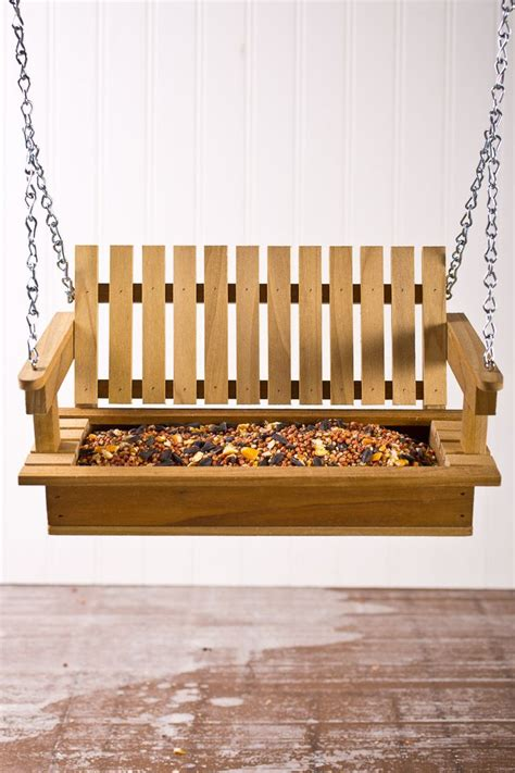plans  porch swing bird feeder woodworking projects