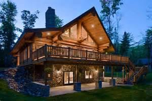 walkout basements walkout basement house plans log homes with walkout basement modern log homes design