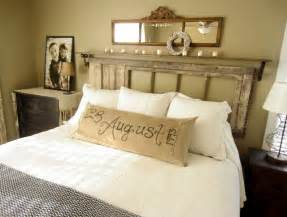 Down to Earth Style: {Vintage Rustic Master Bedroom}