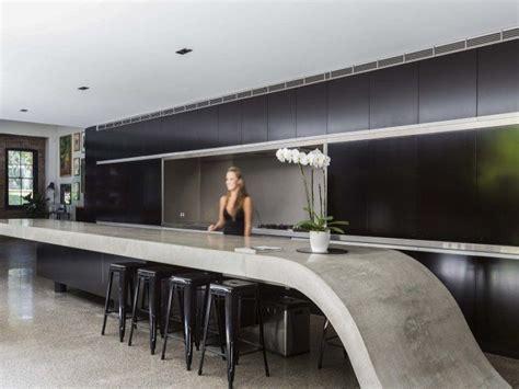 masculine kitchen matt black handleless cabinets thick