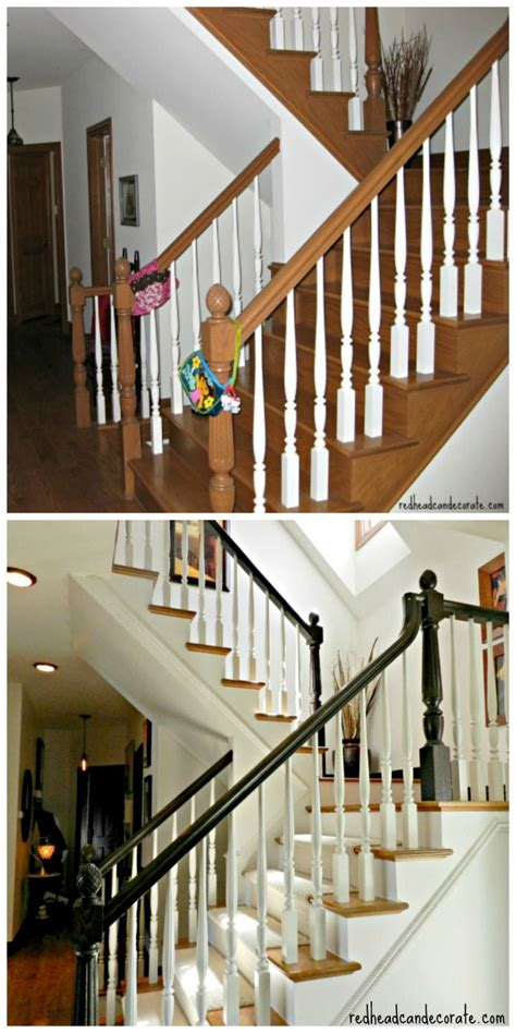 staircase makeover stains staircase remodel  design