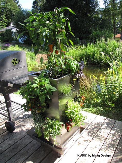 Kubi  Ein Ganzer Garten Auf 1m² Das Erste Hochbeet Mit