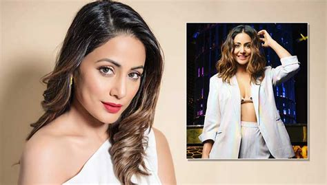 Hina Khan looks gorgeous in a pastel pantsuit picture ...
