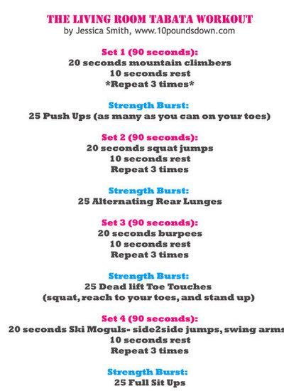 Best Circuit Tabata Hiit Work Outs Images