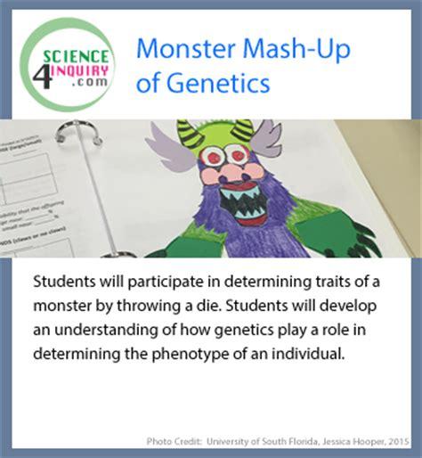 Monster Mashup Of Genetics