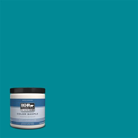 behr premium plus ultra 8 oz hdc sm16 06 blue slushie