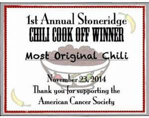 casi chili cook off award certificate pictures to pin on With chili cook off certificate template