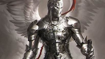 Angel Warrior Knight Armor Knights Fantasy Anime