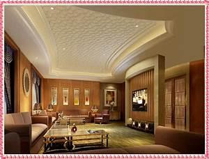 simple gypsum ceiling designs for living room 2016 Modern