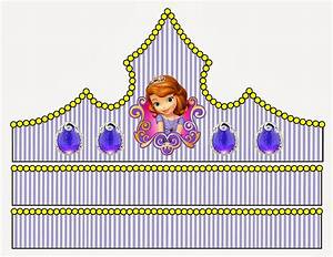 princess sofia free printable crown or tiara oh my With sofia the first crown template