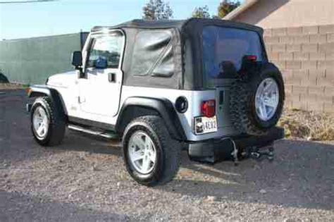2006 jeep wrangler 4 door sell used 2006 jeep wrangler rubicon sport utility 2 door