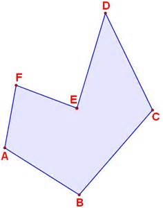 Polygon with Vertices