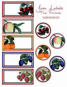 free printable jam labels the graphics fairy With jelly jar labels printable free