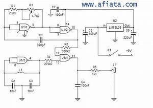 Metal Detector Circuit Diagram