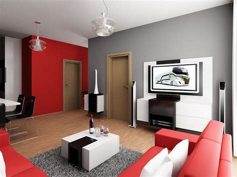Red Colour Combination For Minimalist Living Room Design Pinterest Dining Room Chairs Furniture Canada Small Tables With Leaves Ideas On A Budget Craigslist How To Refinish Table And Exotic Sets Cabinets