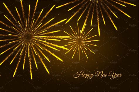 And New Year Background by New Year Fireworks Background Illustrations Creative