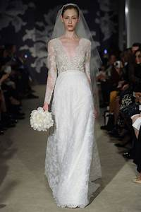 carolina herrera spring 2015 wedding dresses weddingbells With carolina herrera wedding dress
