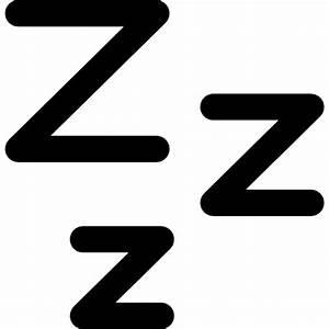 Zzz sleep symbol Icons   Free Download