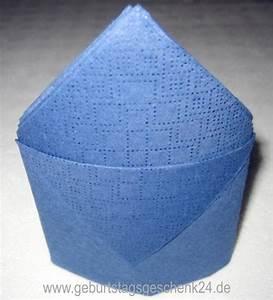 Servietten Falten Bischofsmütze : wie falte ich eine serviette als kleine bischofsm tze ~ Orissabook.com Haus und Dekorationen