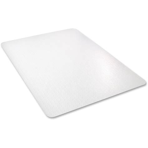 deflect o cm11142pc all pile rectangular chairmat carpeted