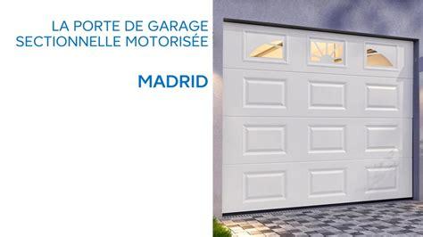 porte de garage sectionnelle castorama porte de garage sectionnelle avec hublots madrid 645776 castorama