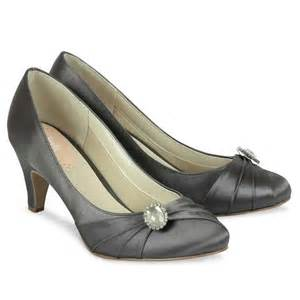 wedding shoes rainbow pink paradox harmony slate grey satin shoes wedding