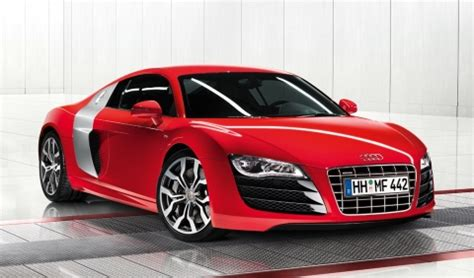 2010 Audi R8 Pricing Announced For Us  2010 Audi V10 R8