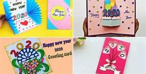 New, Year, 2020, Easy, Diy, Greeting, Card, Ideas, For, Kids, U2022, K4, Craft