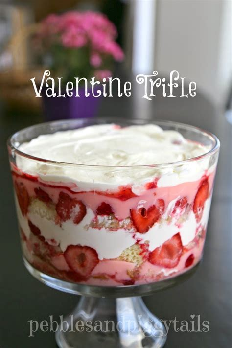 Easy Valentine Trifle Dessert | Making Life Blissful
