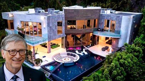 Inside Bill Gates House - YouTube