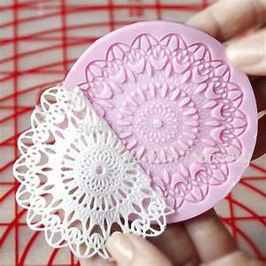 lace templates for cakes - best wholesale round cupcake silicone mold lace cake