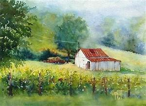 daily paintworks quotmorning choresquot by judy mudd for the With barn painting cost