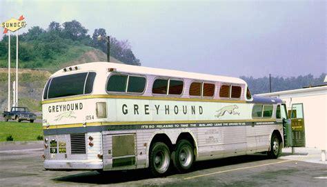 greyhound  gmc pd  super scenicruiser   rest st