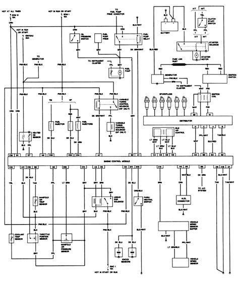 1987 S10 2 8 Engine Wiring Diagram by Repair Guides