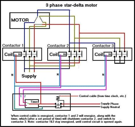 motor star delta connection data diagram pinterest