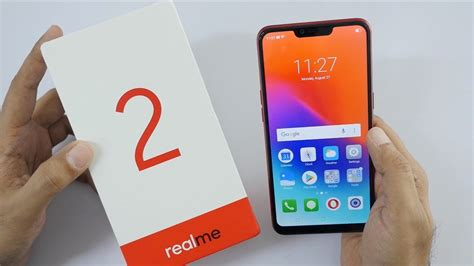 realme 2 budget smartphone with dual unboxing