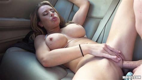 Driver With Big Dick Fucks Big Breasted Teen In Shaved Pussy