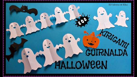 Decora tu Cuarto en Halloween con Fantasmas de Papel
