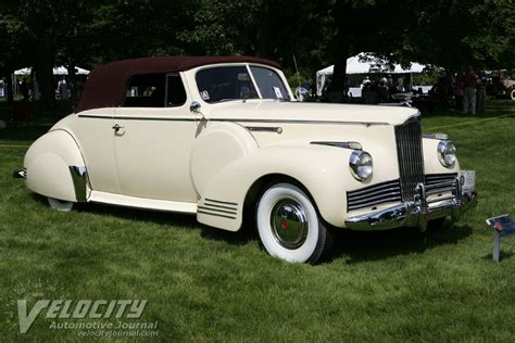 1942 Packard Convertible Coupe Information