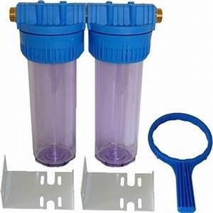Filtre Eau De Puit : 2 x porte filtre 10 avec equerre et mamelon 3 4 ~ Premium-room.com Idées de Décoration